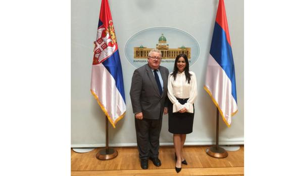 Conferinta preaderare in Serbia - Gabriela Zoana