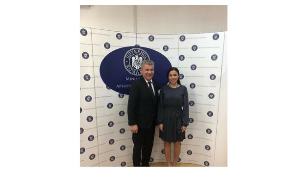 Gabriela Zoana - Ministrul Apelor si Padurilor