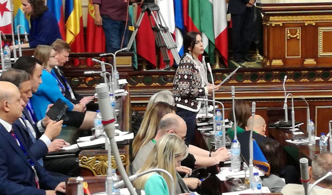 Discursul europarlamentarei Gabriela Zoana la Cairo