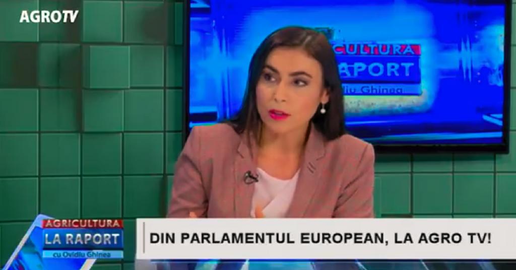 Gabriela Zoana - interviu emisiunea agricultura la raport