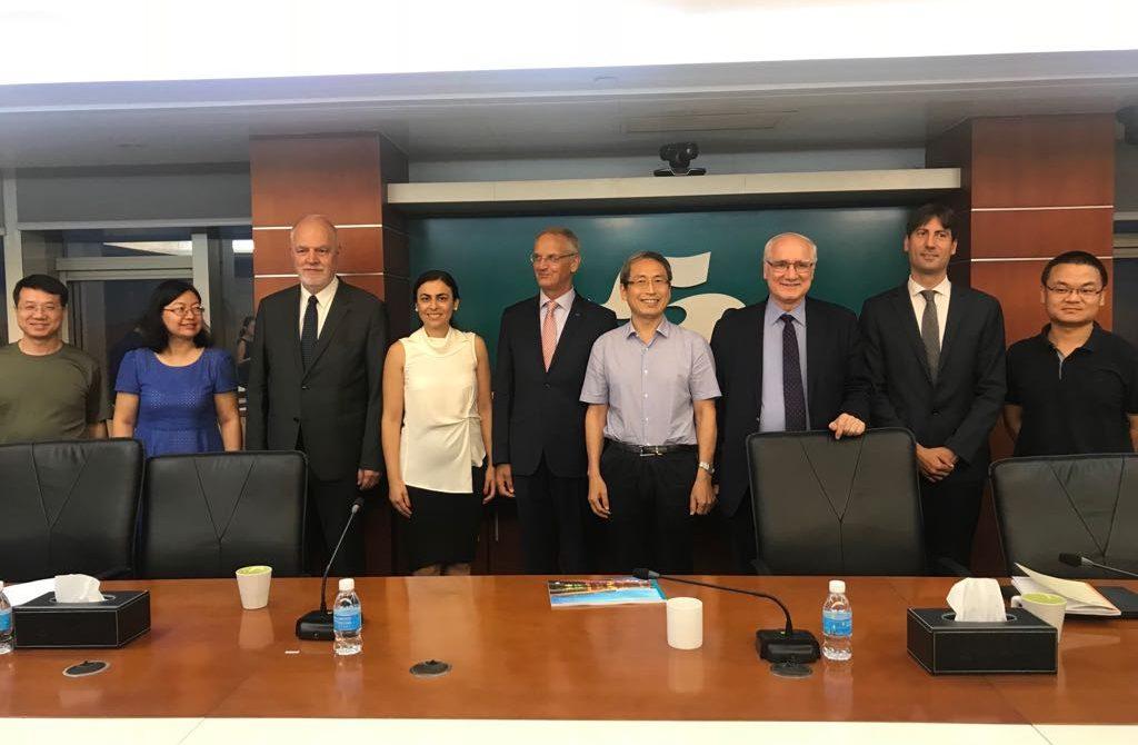 Europarlamentarul Gabriela Zoana la Compania de Apa din Shengzhen