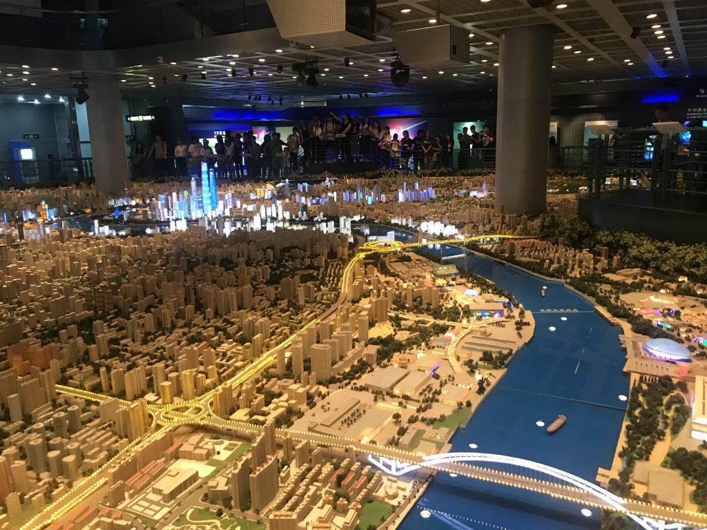 Centrul de planificare urbana din Shanghai