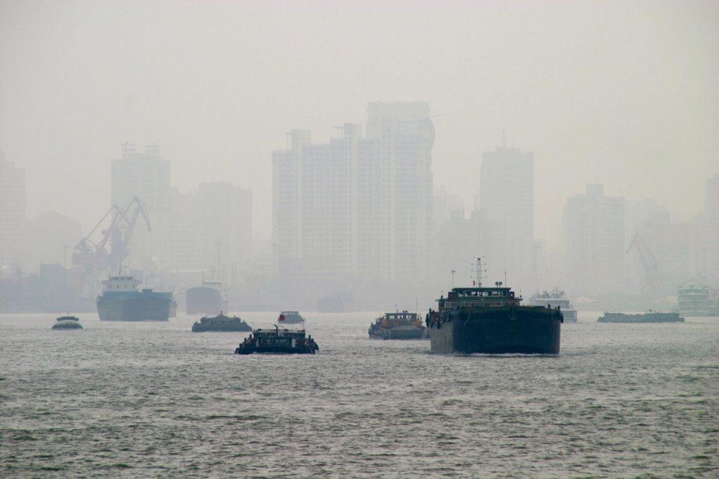 Poluare in Shanghai