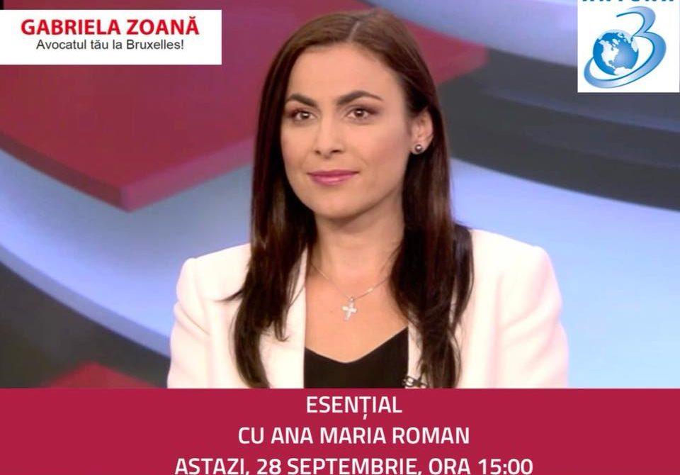 Interviu Antena 3, emisiunea Esential