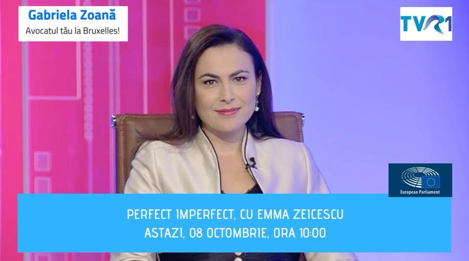 "Interviu TVR 1, eminiunea ""Perfect, imperfect"""