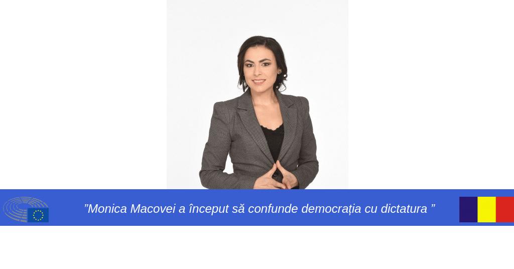Gabriela Zoana despre Monica Macovei
