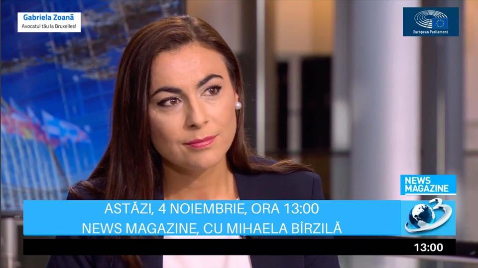 Interviu Antena3 - News Magazine