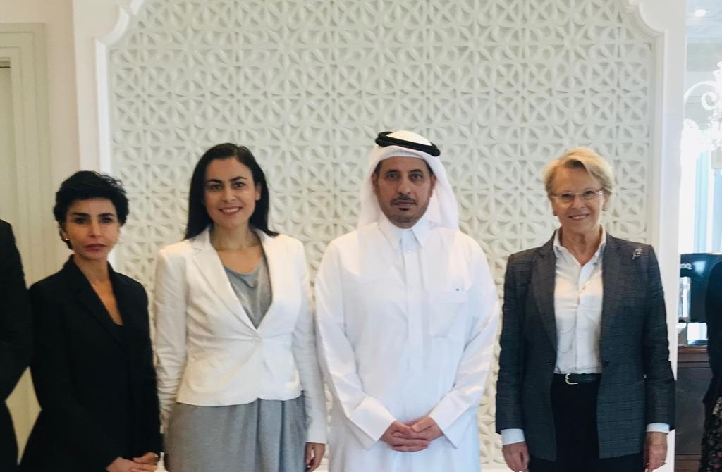 Eurodeputat Gabriela Zoana - vizita de lucru in Qatar