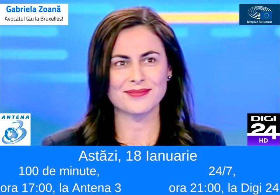 Interviu pentru emisiunea 100 de minute, Antena 3