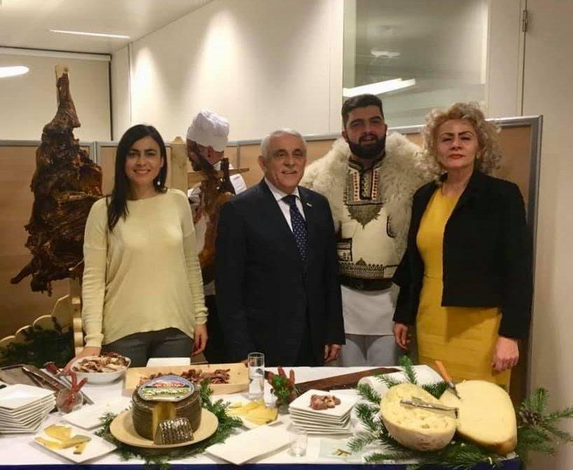 Promovarea produselor traditionale romanesti in Parlamentul European