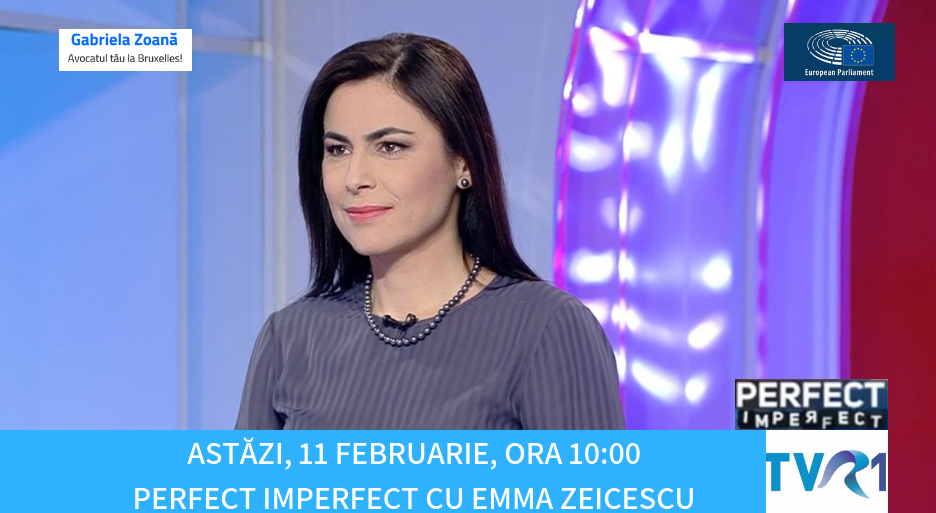 INTERVIU PENTRU EMISIUNEA PERFECT, IMPERFECT, TVR1