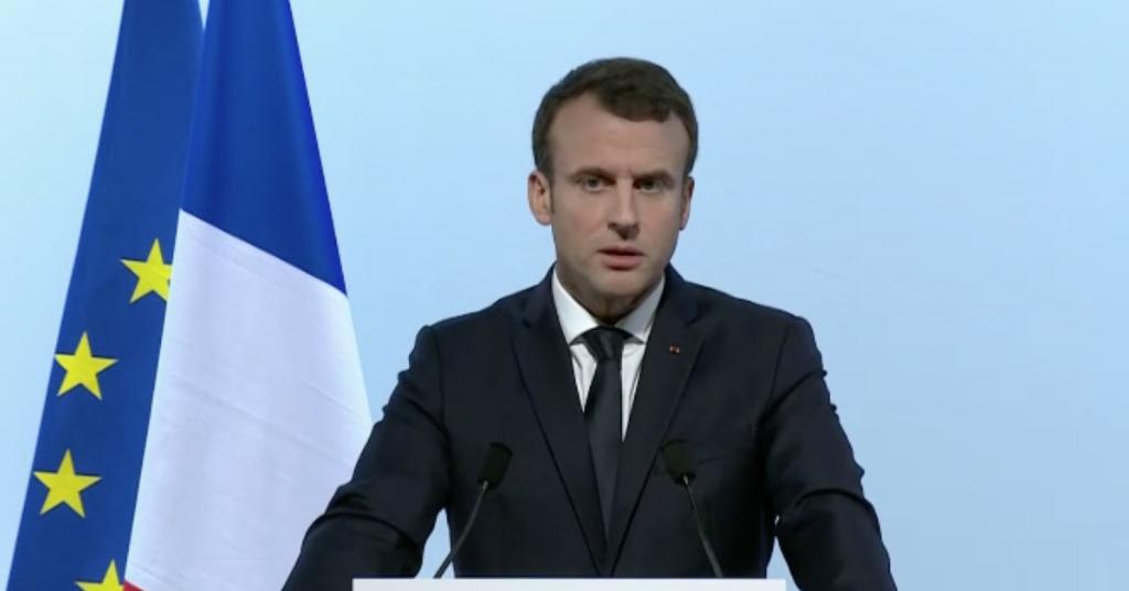 Discurs Emanuel Macron in Parlamentul European