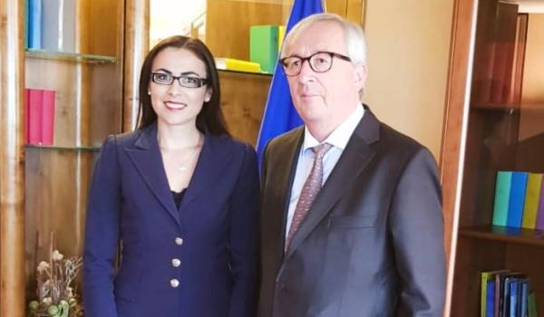 Intalnire cu Jean Claude Juncker