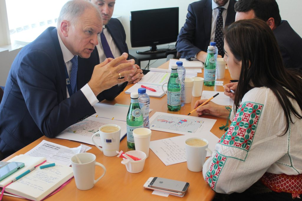 Întâlnire oficială cu comisarului european pentru sănătate,Vytenis Andriukaitis