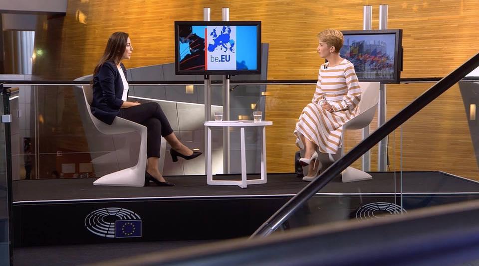 """Inteviu Antena 3, emisiunea """"BE EU"""""""
