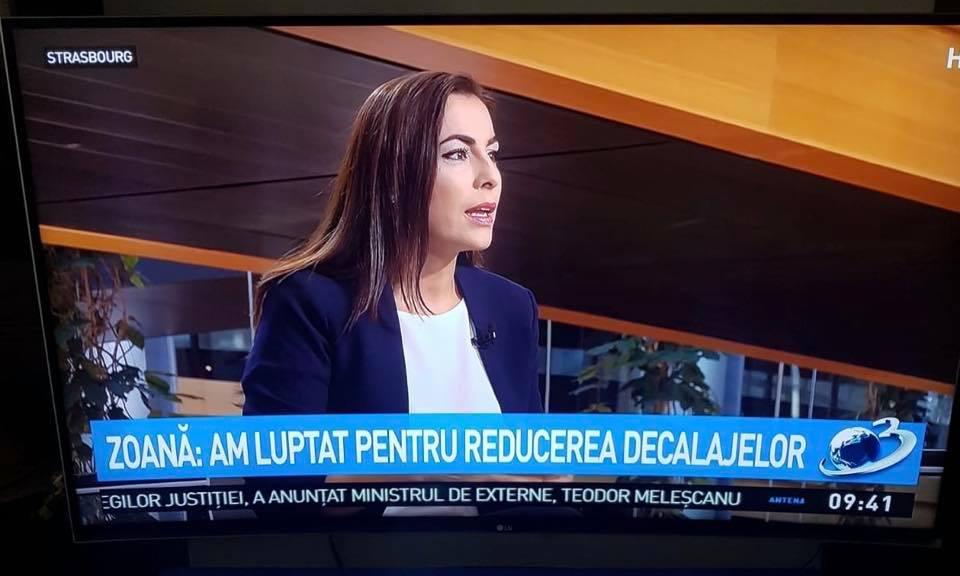 """Interviu antena 3 pentru emisiunea """"Be EU"""""""