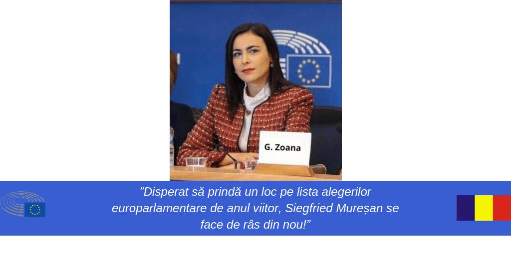 Gabriela Zoana-europarlamentar