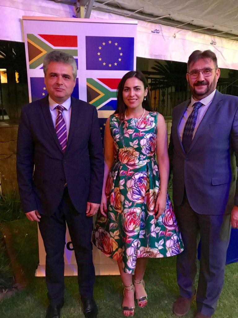 Europarlamentarul Gabriela Zoana la intalnirea cu ambasadorul Romaniei in Africa de Sud