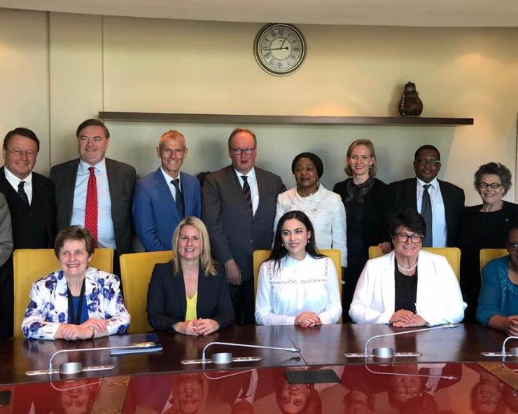 Gabriela Zoana in Africa de Sud - delegatia interparlamentara sud africana