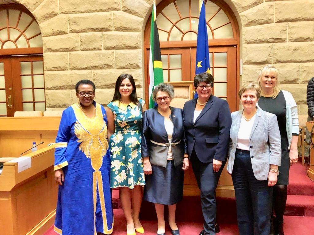 Gabriela Zoană - intalnire cu femeile de afaceri din Africa de Sud