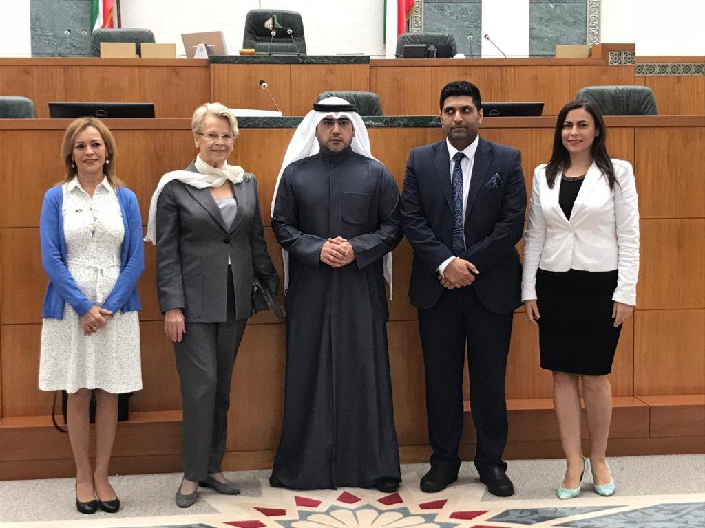 Gabriela Zoana cu presedintele Comisiei de Relatii Externe